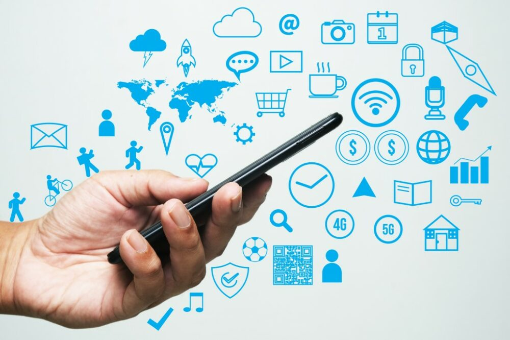 applications pour smartphone