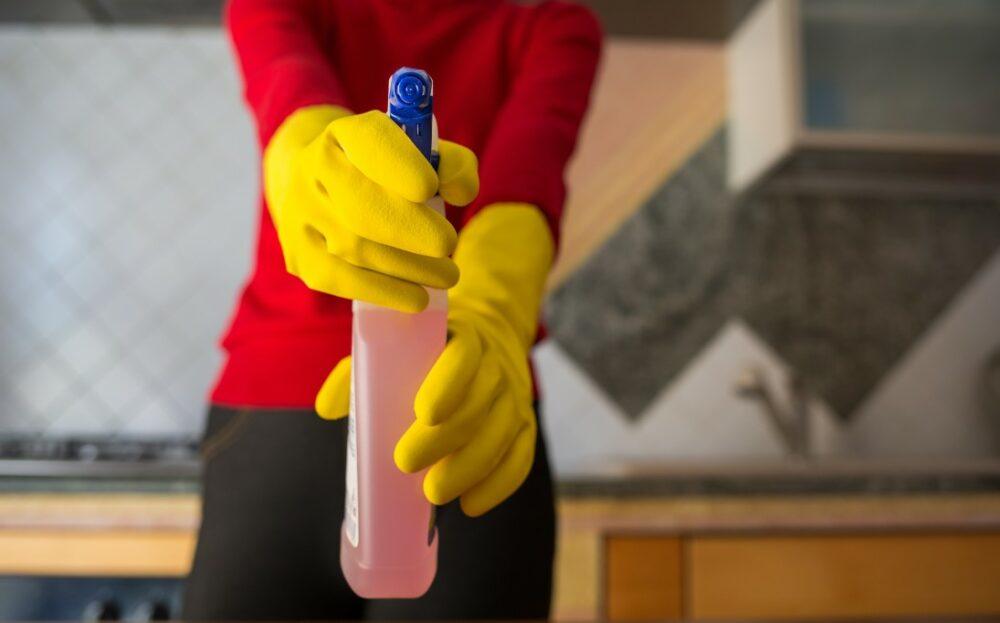 désinfectant pour éliminer les allergènes
