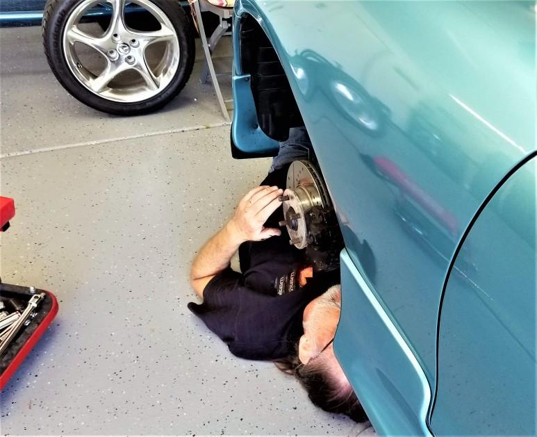 réparation roulement voiture