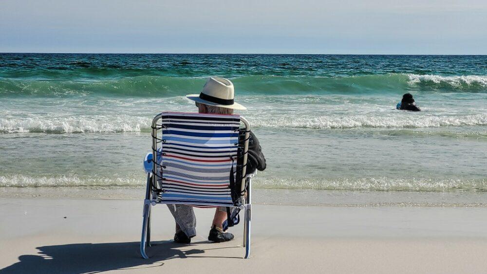 retraite à la plage
