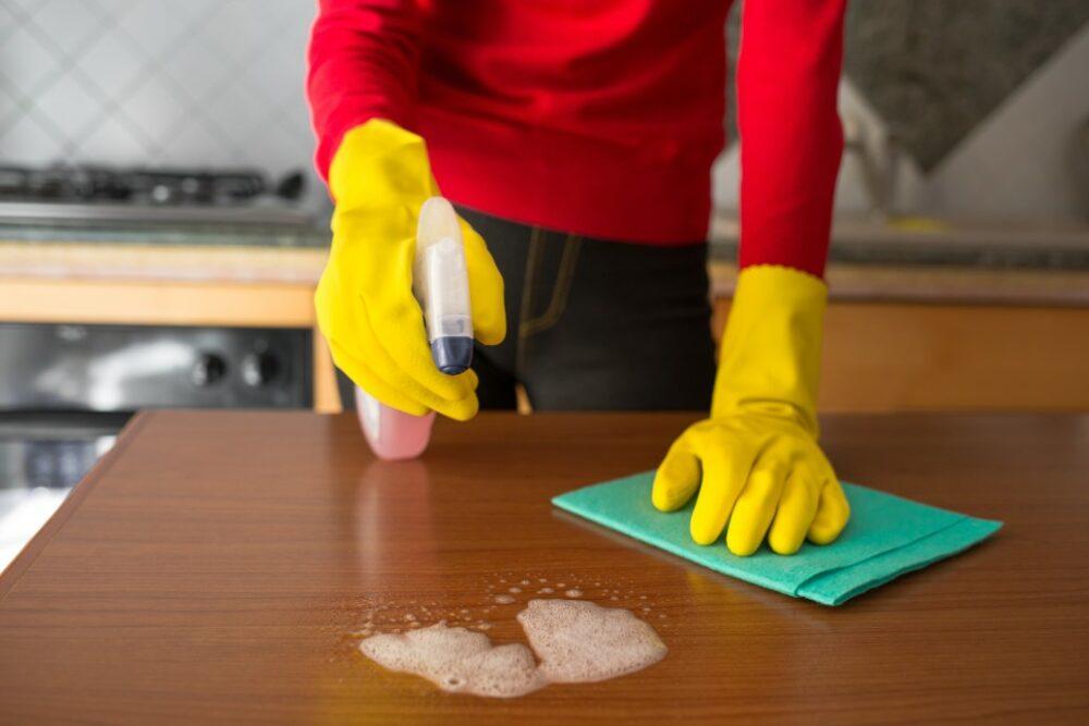 service de nettoyage à domicile
